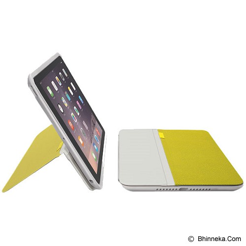LOGITECH AnyAngle Protective Case for Apple iPad Air 2 [939-001195] - Yellow - Casing Tablet / Case